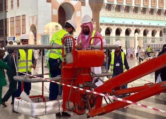 مظلات المسجد النبوي تعود للعمل من جديد – أخبار السعودية