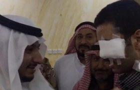 نائب أمير منطقة الجوف يزور الجندى المصاب نتيجة عمل ارهابى ويطمئن على صحته – اخبار السعودية